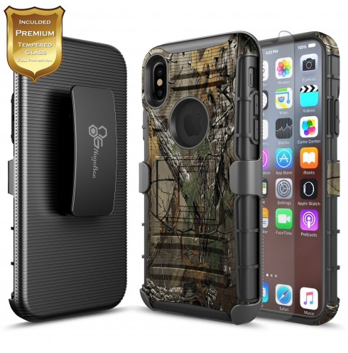 iPhone X Case - Rugged Holster